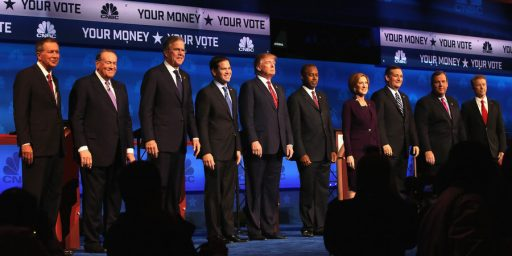 CNBC Debate Had Fewer Viewers Than Any Debate So Far, Which Is Good For CNBC