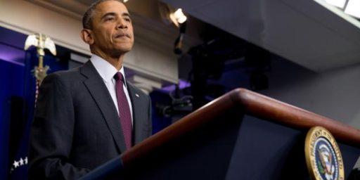 President Obama's Empty Rhetoric On Guns