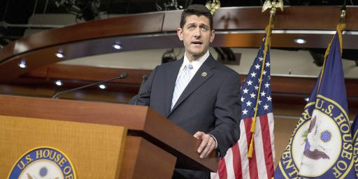 Paul Ryan Joins Republican Calls For Halt To Accepting Syrian Refugees
