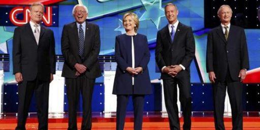 SNL Does The Democratic Debate, With Larry David As Bernie Sanders