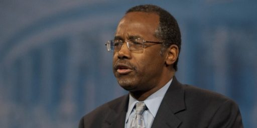 Ben Carson Says He Can't Quit The Race For The Republican Nomination