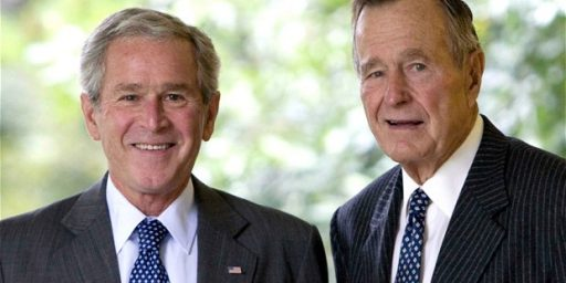 George H.W. Bush Highly Critical Of Rumsfeld And Cheney In New Book