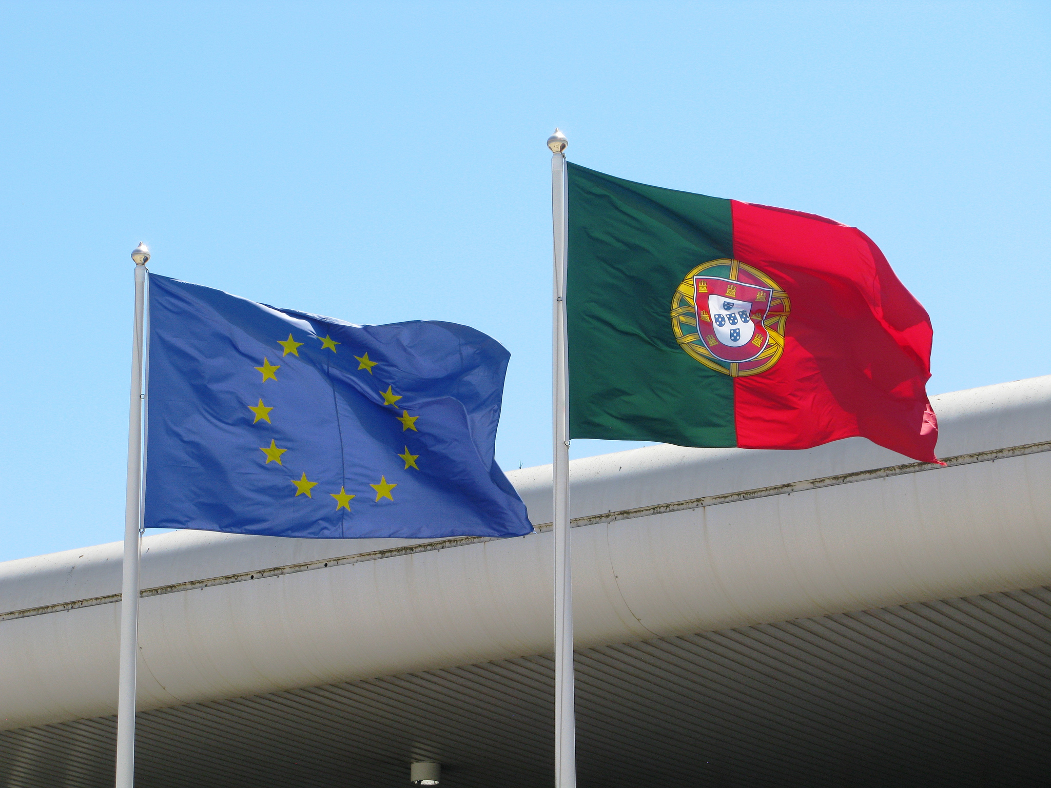 EUropean Portugese Flags