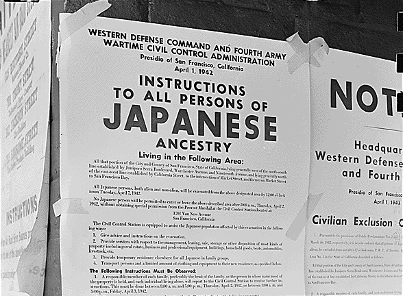 Japanese Interment Poster