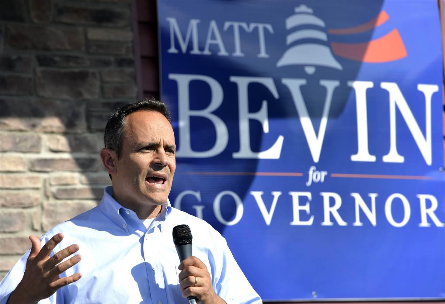 Matt Bevin Kentucky Governor