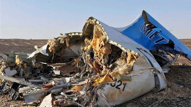 Metrojet A321 Wreckage