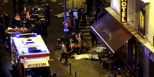 French President Blames ISIS For Paris's Night Of Terror, Vows French Response