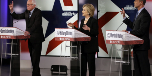 Democrats Debate In The Shadow Of The Paris Attacks, And Iowa Football