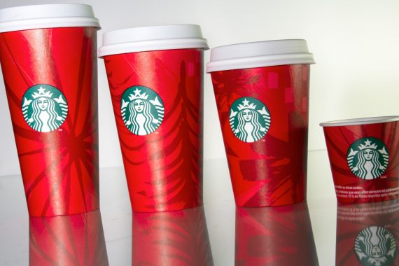 Starbucks Holiday Cups 2014