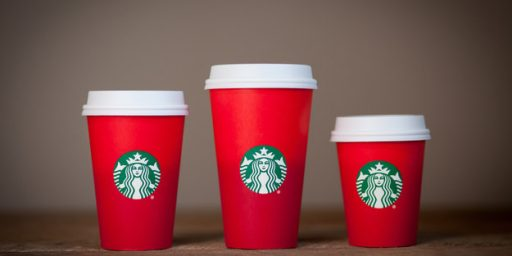 'War On Christmas' Apparently Now Being Fought With Coffee Cups