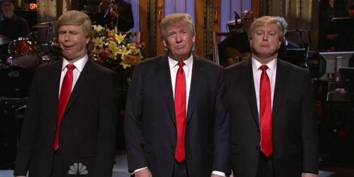 Donald Trump Continues To Feed Material To Saturday Night Live