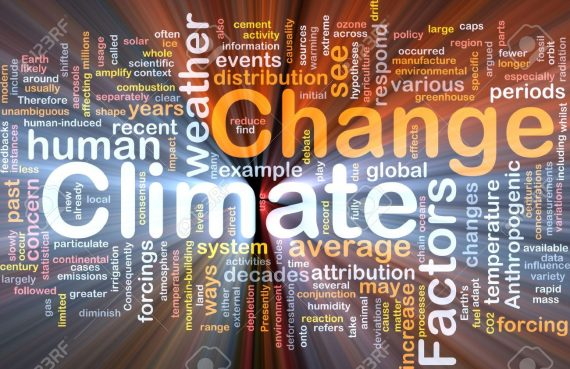 Climate Change Word Cloud