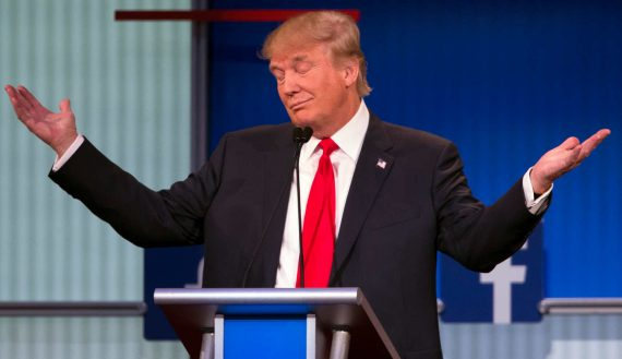 Donald Trump Shrug