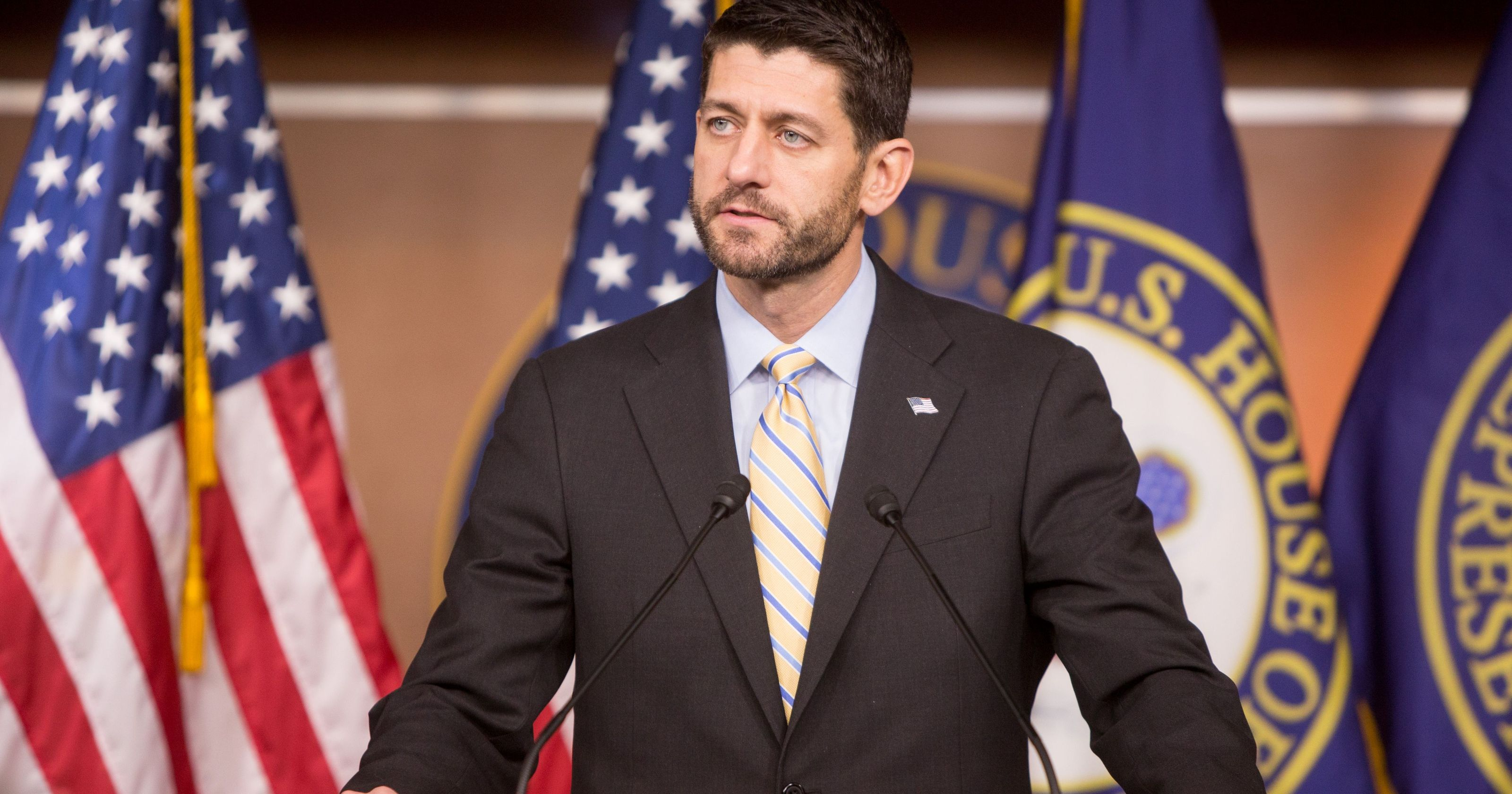 Paul Ryan Speaking (with beard)