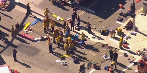 At Least 14 Dead, 14 Wounded In Mass Shooting In San Bernardino, California, Multiple Shooters Reported
