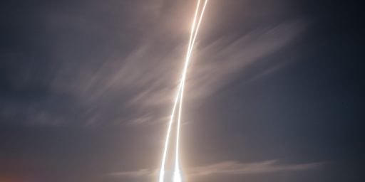 SpaceX Pulls Off Historic Launch And Return Of Rocket After Delivering Satellites Into Orbit