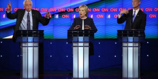 Third Democratic Debate Establishes That The Democratic Nomination Fight Is Over