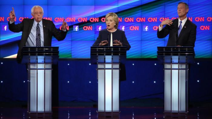 Third Democratic Debate Sanders Clinton O'Malley