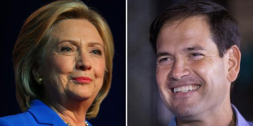 <em>Des Moines Register</em> Endorses Clinton, Rubio