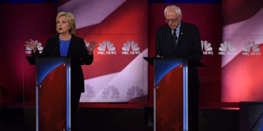 Clinton, Sanders Clash In Final Democratic Debate Before Iowa Caucuses