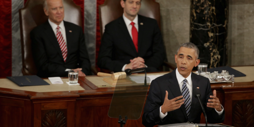 Obama's Final State Of The Union Garners Record Low Ratings