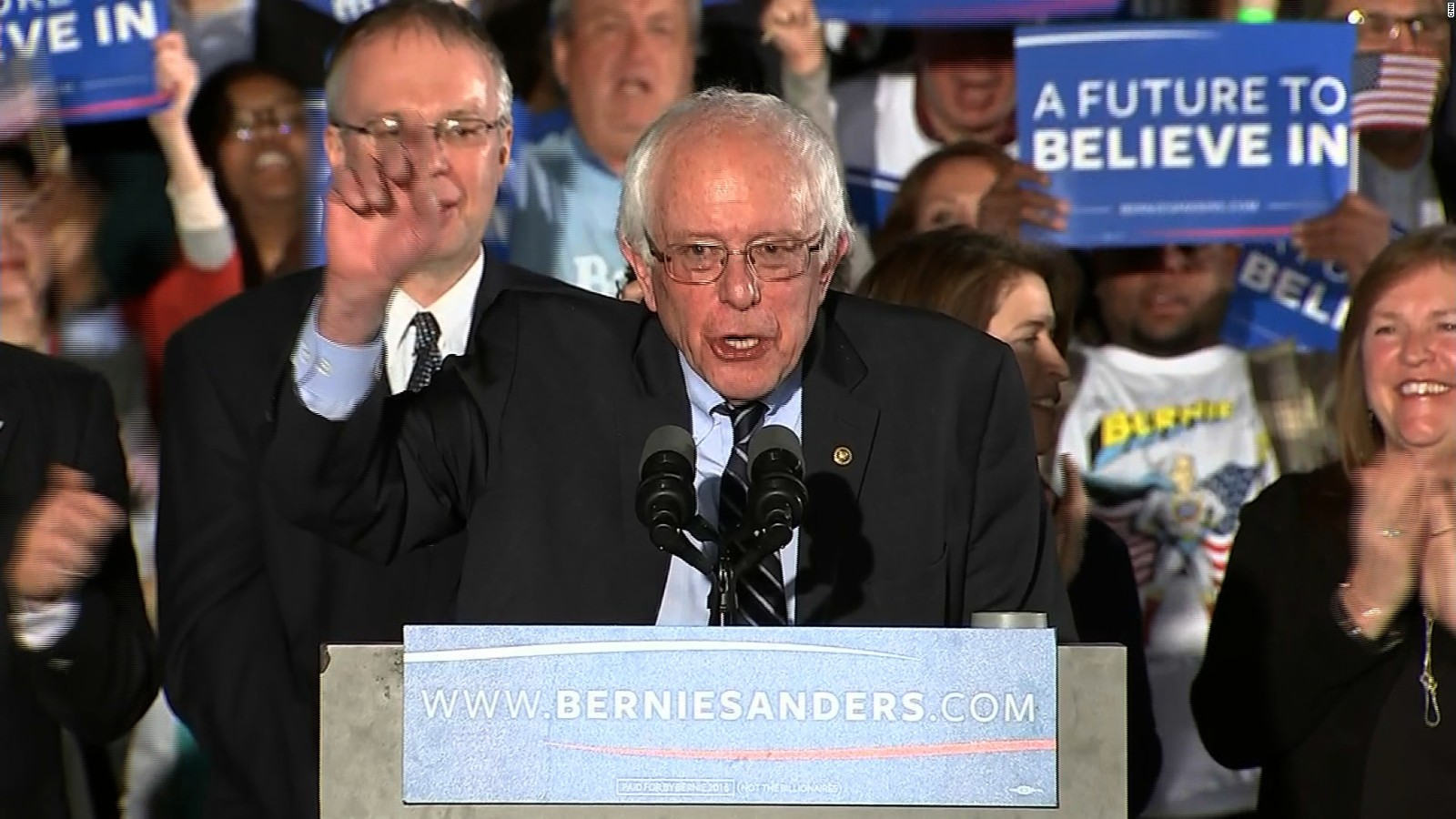 Bernie Sanders Speaking