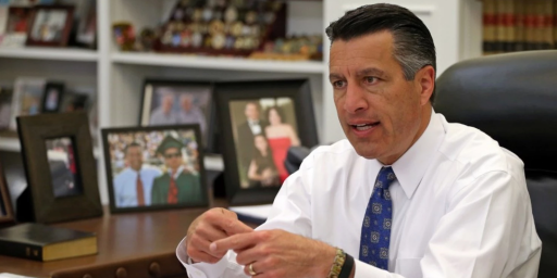 Nevada's Republican Governor Reportedly Being Vetted For Supreme Court
