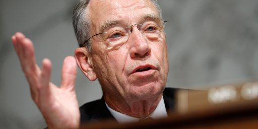 Judiciary Committee Chairman Chuck Grassley Not Ruling Out Hearings On Obama SCOTUS Pick