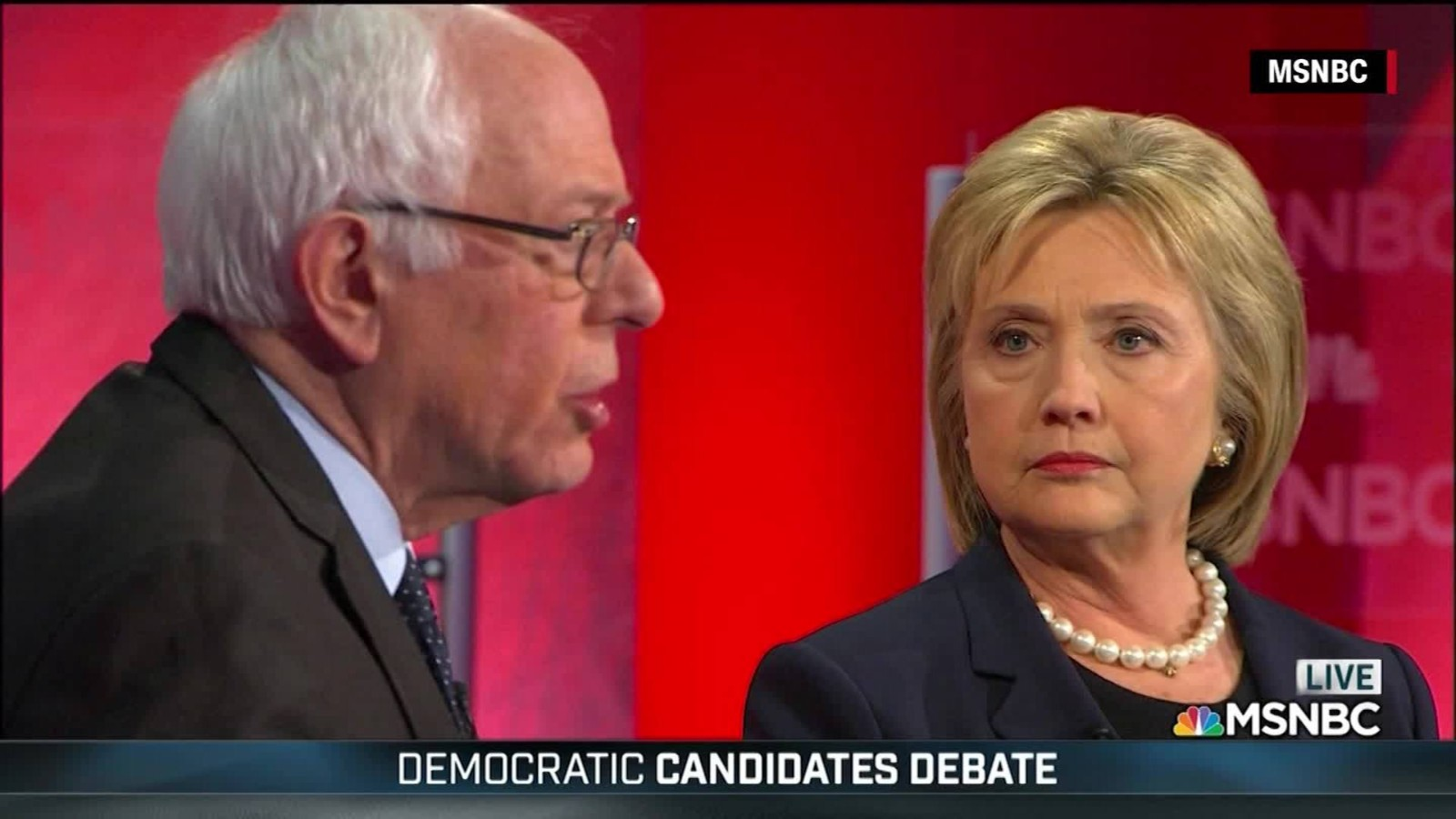 Clinton Sanders Debate
