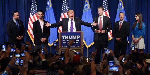 Donald Trump Scores Solid Win In Nevada