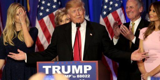Trump Sweeps Mid-Atlantic Primaries, Putting Himself One Step Closer To Victory