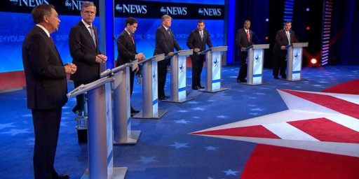 Marco Rubio Becomes The Main Target At Eighth Republican Debate