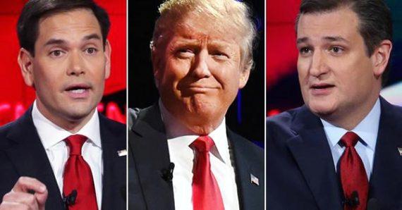 Ted Cruz Donald Trump Marco Rubio