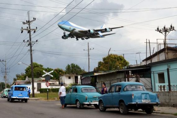 Air Force One Havana