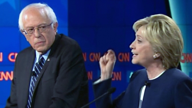 Bernie Sanders Hillary Clinton 3616 Debate