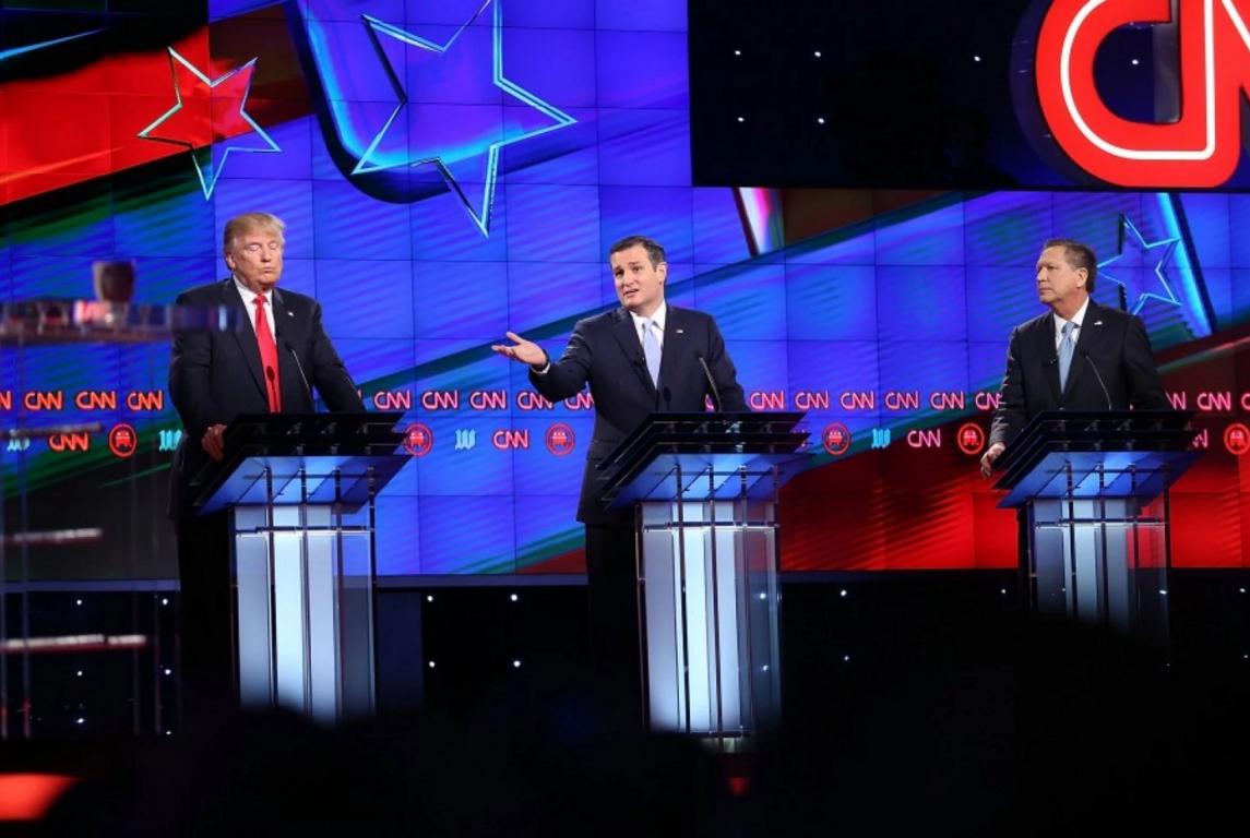 Donald Trump Ted Cruz John Kasich