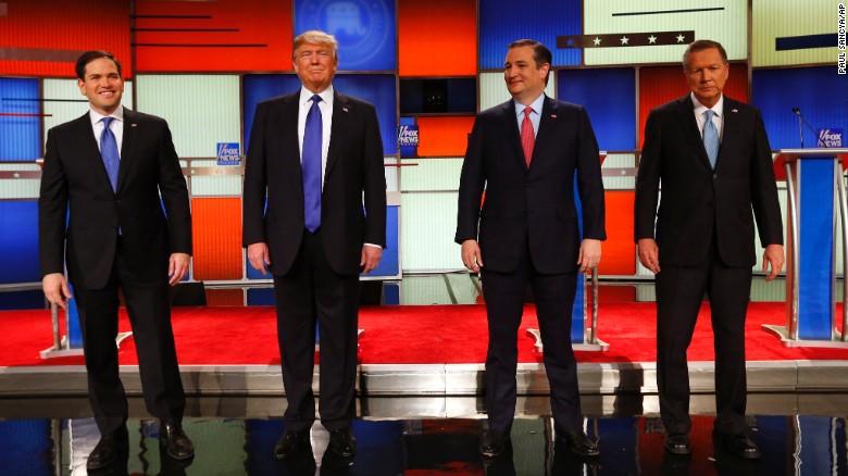 Marco Rubio Donald Trump Ted Cruz John Kasich