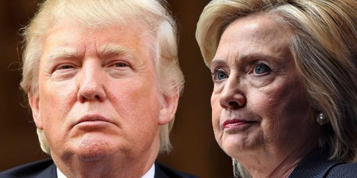 Clinton Holds Slight Lead Over Trump As General Election Race Begins