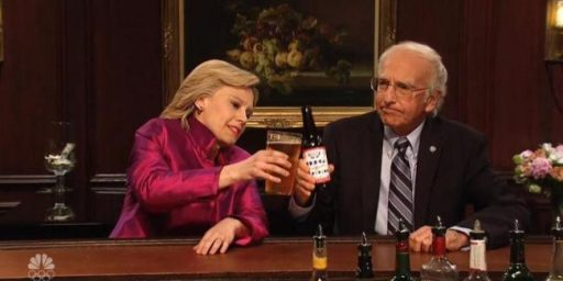 Hillary Clinton And Bernie Sanders Walk Into A Bar.....