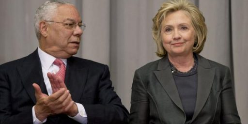 Clinton Email Scandal and The 'Powell Did it Too' Defense