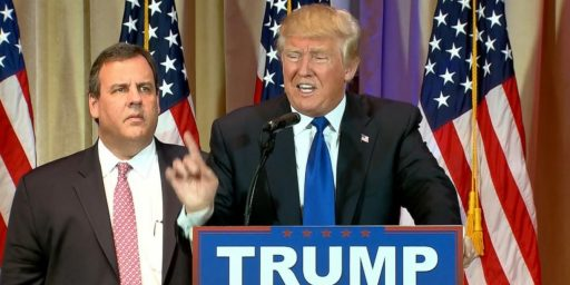 Chris Christie Reportedly Being Vetted For Spot As Trump's Running Mate