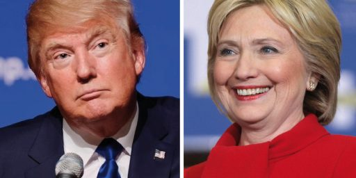 Pre-Convention Polls Show Clinton Leading, Johnson Rising, Major Party Candidates Hated