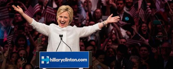 clinton-declares-victory