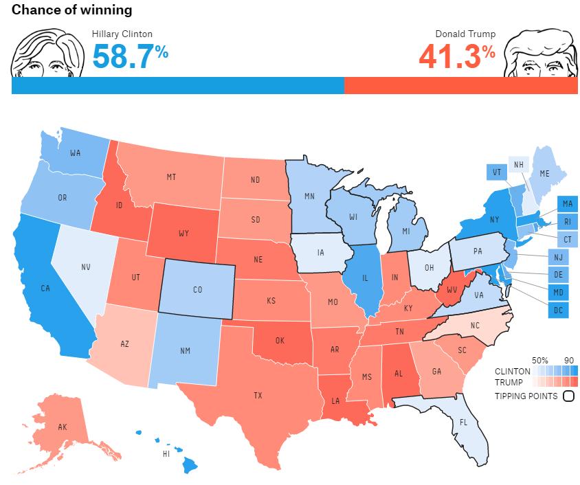 538 Electoral Map 20160723