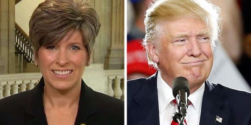 Donald Trump Meets With Joni Ernst As Veep Search Continues