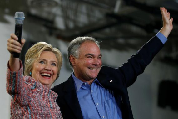 Hillary Clinton Picks Tim Kaine As Her Running Mate