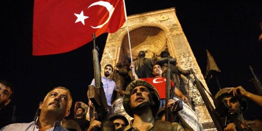 Attempted Coup Rocks Turkey, But Fails To Overthrow Government