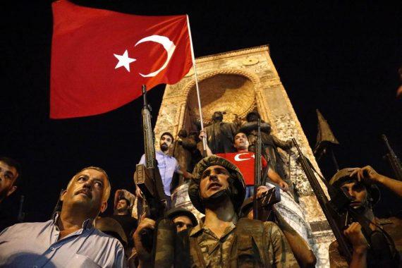 Turkey Coup Protesst