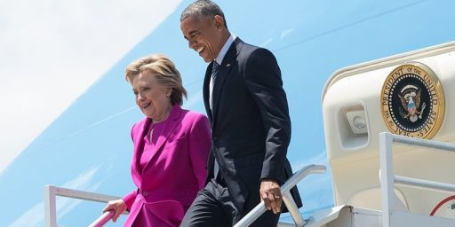 Clinton Campaign Pays for Obama Trip (But Not Really)