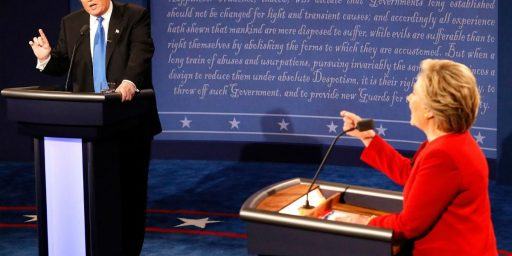 First Clinton v. Trump Debate Sets Record At 81 Million Viewers